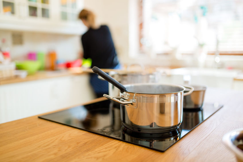 Dampf beim Kochen